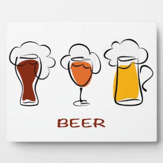 Beer Photo Plaques
