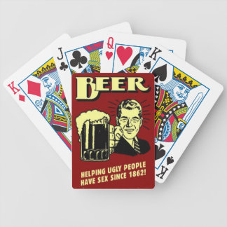 Beer Playing Cards Helping People