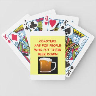 beer bicycle card deck