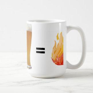 beer plus curry coffee mug