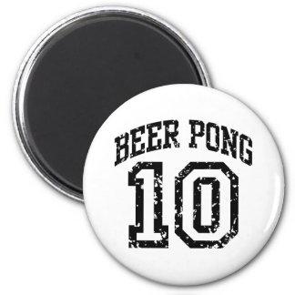 Beer Pong 10 Magnet