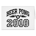 Beer Pong 2010 Card