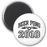 Beer Pong 2010 Refrigerator Magnets