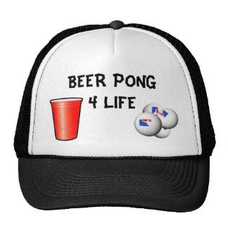 BEER PONG 4 LIFE TRUCKER HAT