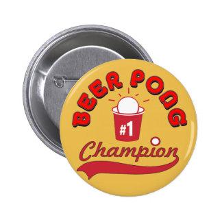 Beer Pong Award Pinback Button