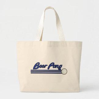 Beer Pong Tote Bags
