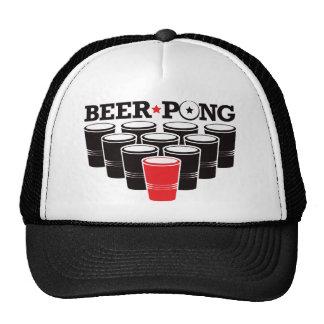 Beer Pong Basic - Red Trucker Hats