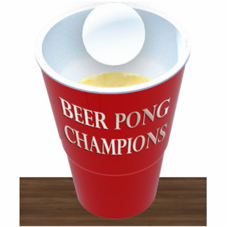 Beer Pong / Beirut Trophy Cut Outs