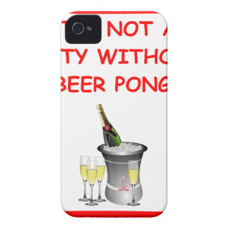 beer pong iPhone 4 case