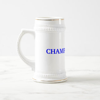 BEER PONG CHAMP BEER STEIN