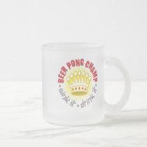 Beer Pong Champ Mug
