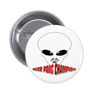 Beer Pong Champion 2 Inch Round Button
