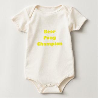 Beer Pong Champion Baby Bodysuit