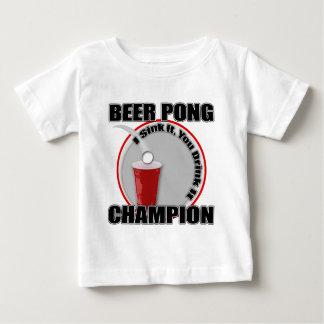 Beer Pong Champion Baby T-Shirt