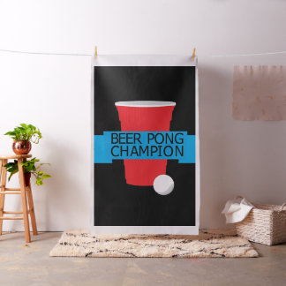 beer pong champion fabric