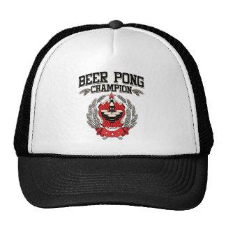 Beer Pong Champion Hat