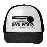 Beer Pong Champion Hats