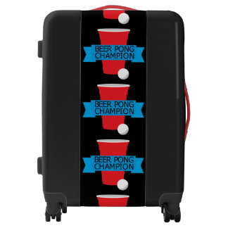 beer pong champion luggage