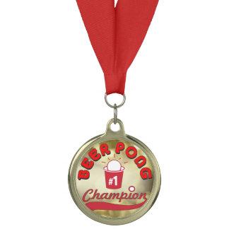 Beer Pong Champion Medal