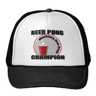 Beer Pong Champion Mesh Hats