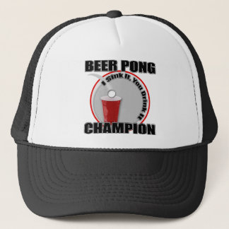 Beer Pong Champion Trucker Hat