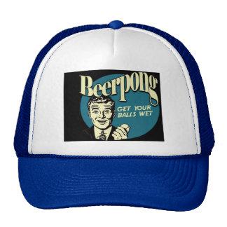 Beer_Pong_get_your_balls_wet.15600837 Gorro De Camionero