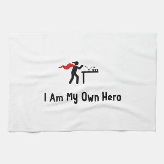 Beer Pong Hero Hand Towel