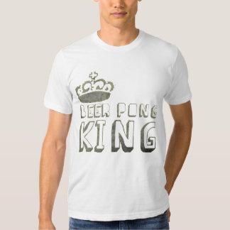 Beer Pong King TShirt