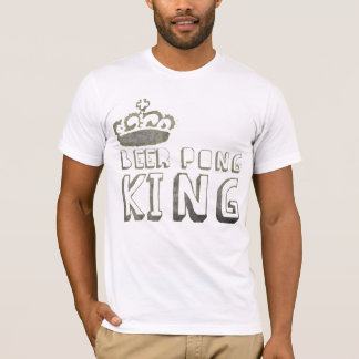 Beer Pong King TShirt