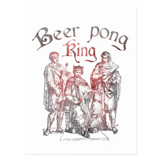 Beer Pong Kings Postcard