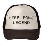 Beer Pong Legend Hats