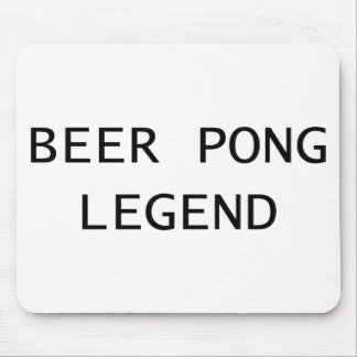 Beer Pong Legend Mouse Pad