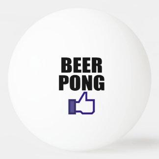 BEER PONG, LIKE THIS Ping-Pong BALL