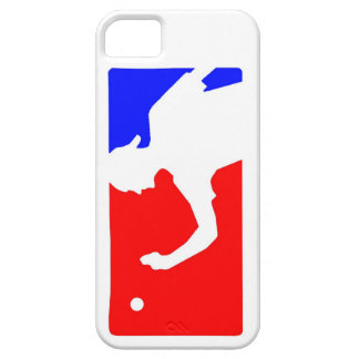 Beer Pong Logo Case in Red, White & Blue iPhone 5 Case