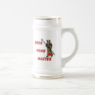 Beer Pong Master Beer Stein
