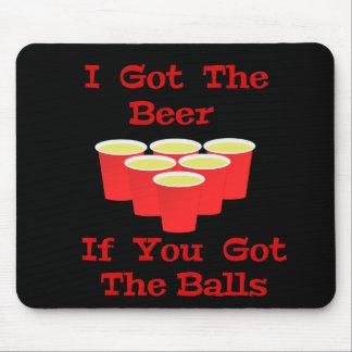 Beer Pong Mousepad