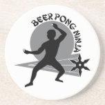 Beer Pong Ninja Coaster