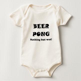 Beer Pong Nothing But Wet Baby Bodysuit