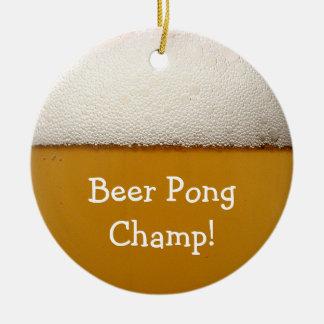 Beer Pong Ornaments
