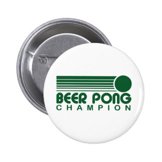 Beer Pong Pinback Button