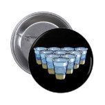beer pong pinback buttons