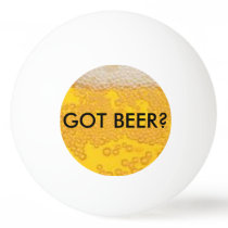 Beer Pong Ping-Pong Ball