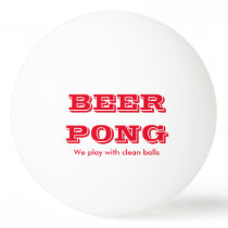 Beer Pong Play With Clean Balls 2