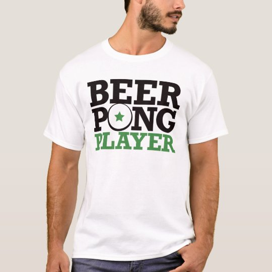 Beer Pong - Player T-Shirt