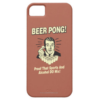 Beer Pong: Proof Alcohol & Sports Mix iPhone SE/5/5s Case