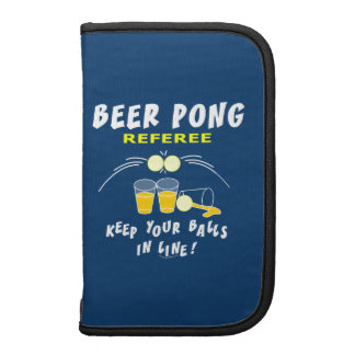 Beer Pong Referee Organizers