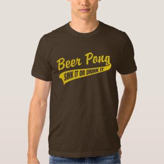 Beer Pong Sink It Or Drink It Tee Shirt