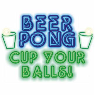 Beer Pong Statuette
