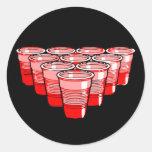 beer pong sticker