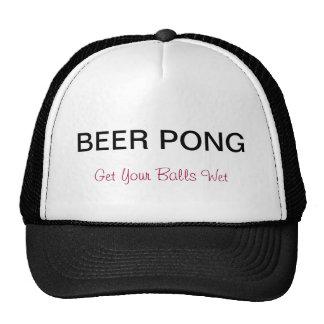 Beer Pong Truckers Hat